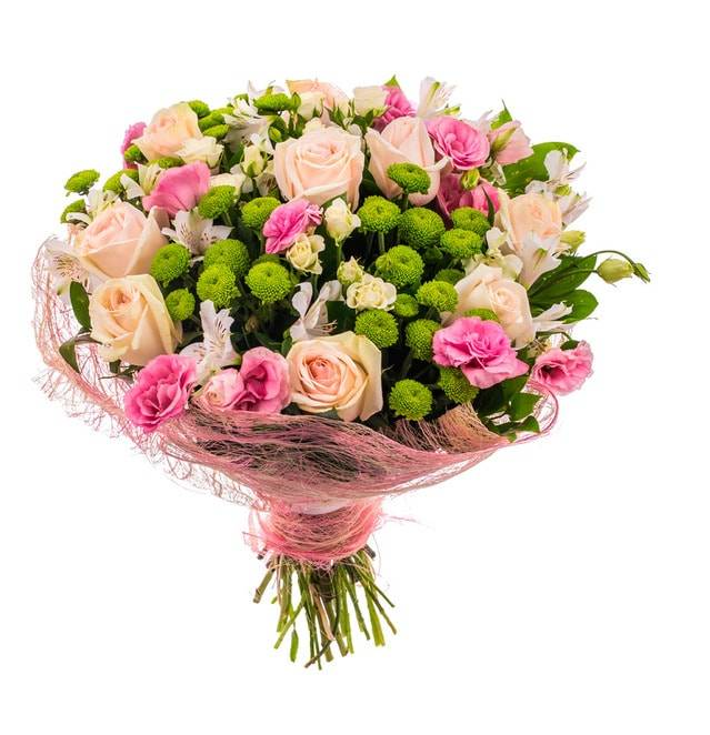 Букет составляющие 100 розыгрышей, букеты зеленой орхидеями